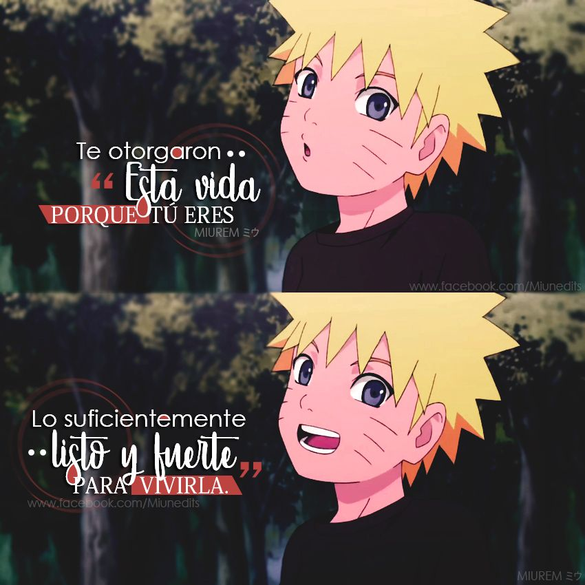 Uzumaki Naruto Frases De Anime Animequotes Frases De