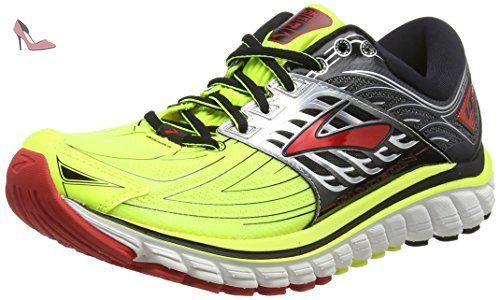 Chaussures De 14 Brooks Jaune Compétition Running Glycerin Homme q4EHPH