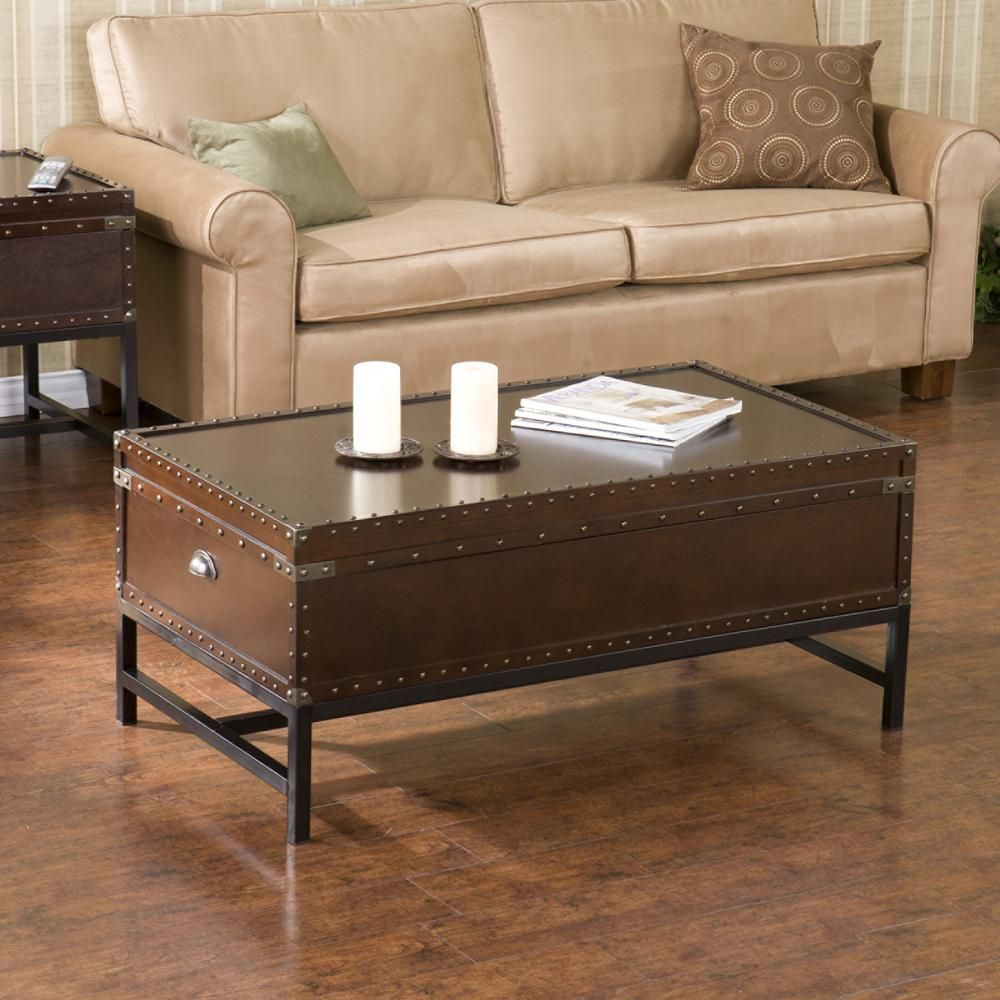 Voyager 42 In Espresso Black Large Rectangle Wood Coffee Table With Lift Top Ck9820 The Home Depot Coffee Table Trunk Coffee Table Coffee Table With Storage [ 1000 x 1000 Pixel ]