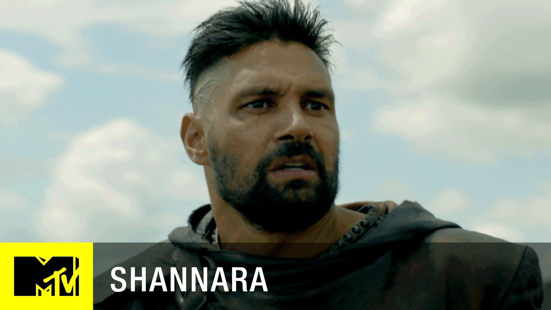 The Shannara Chronicles Meet Allanon Manu Bennett Mtv
