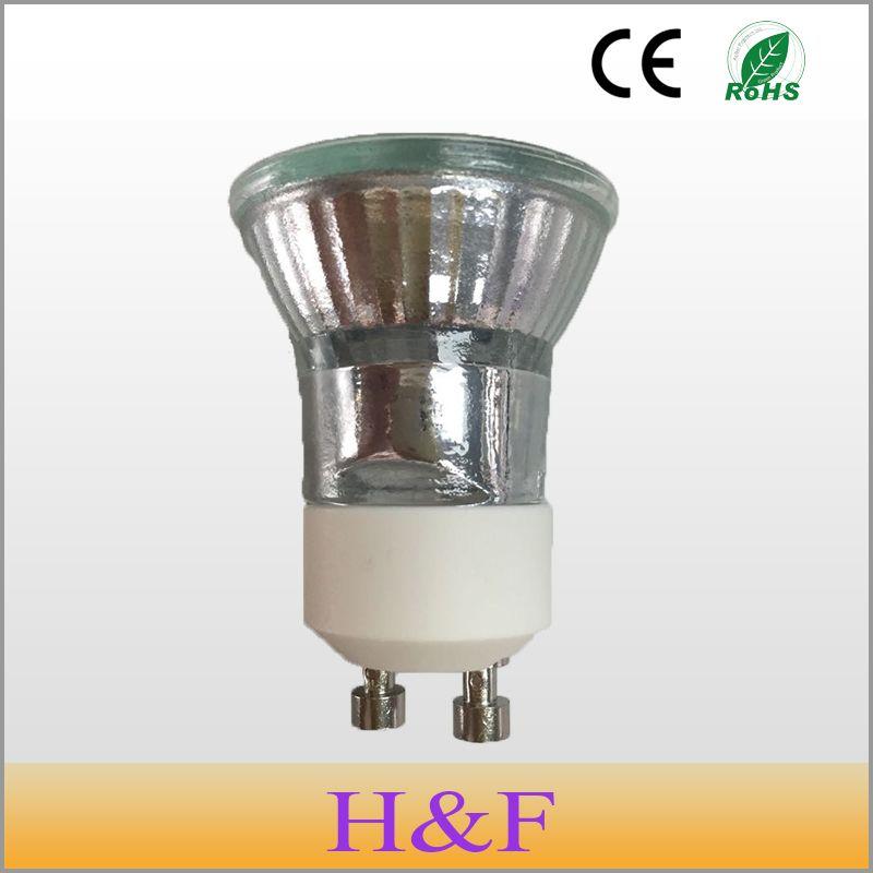 Free Shipping 5pcs Lot Dimmable 230v Gu10 35w C 35mm Halogen Lamp Bulb Clear Warm White 2700 3000k Quartz Glass Indoor Lights Halogen Lamp Lamp Bulb