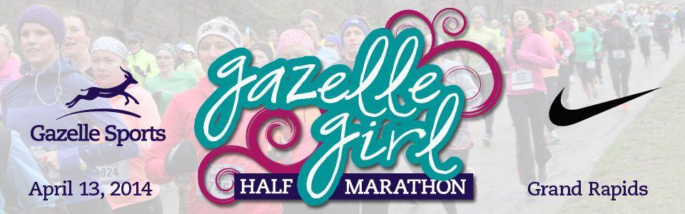 Gazelle Girl Half #Marathon takes place on April 13, 2014. Registration is now open!