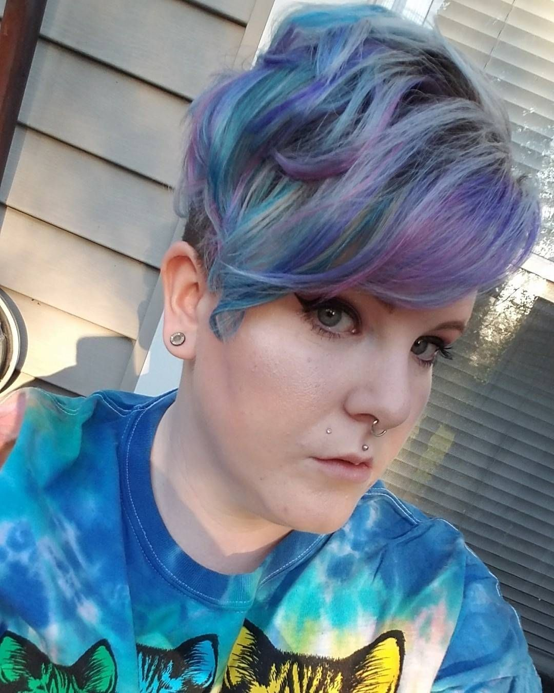 New hair haircolor nofilter unicorn unicornhair pravana