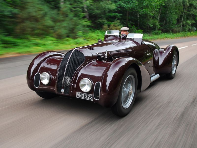 1938 Alfa Romeo 6c 2300b Mille Miglia Spyder Ive Pinned It Before