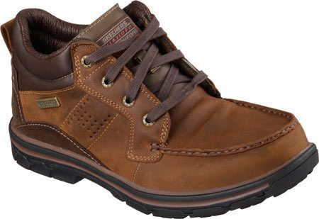 Skechers Mariners Pilot(Men's) -Black Oily Leather Discount Reliable Largest Supplier For Sale Wd3J4ZKmuD