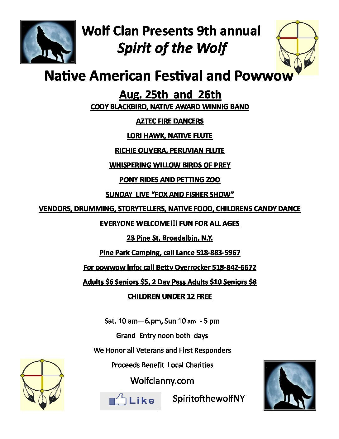 Th annual spirit of the wolf native american festival and powwow