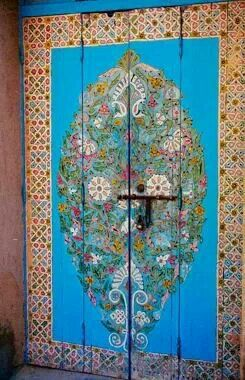Pin by Linda Peltola on Fun and Colorful Doors, Painted