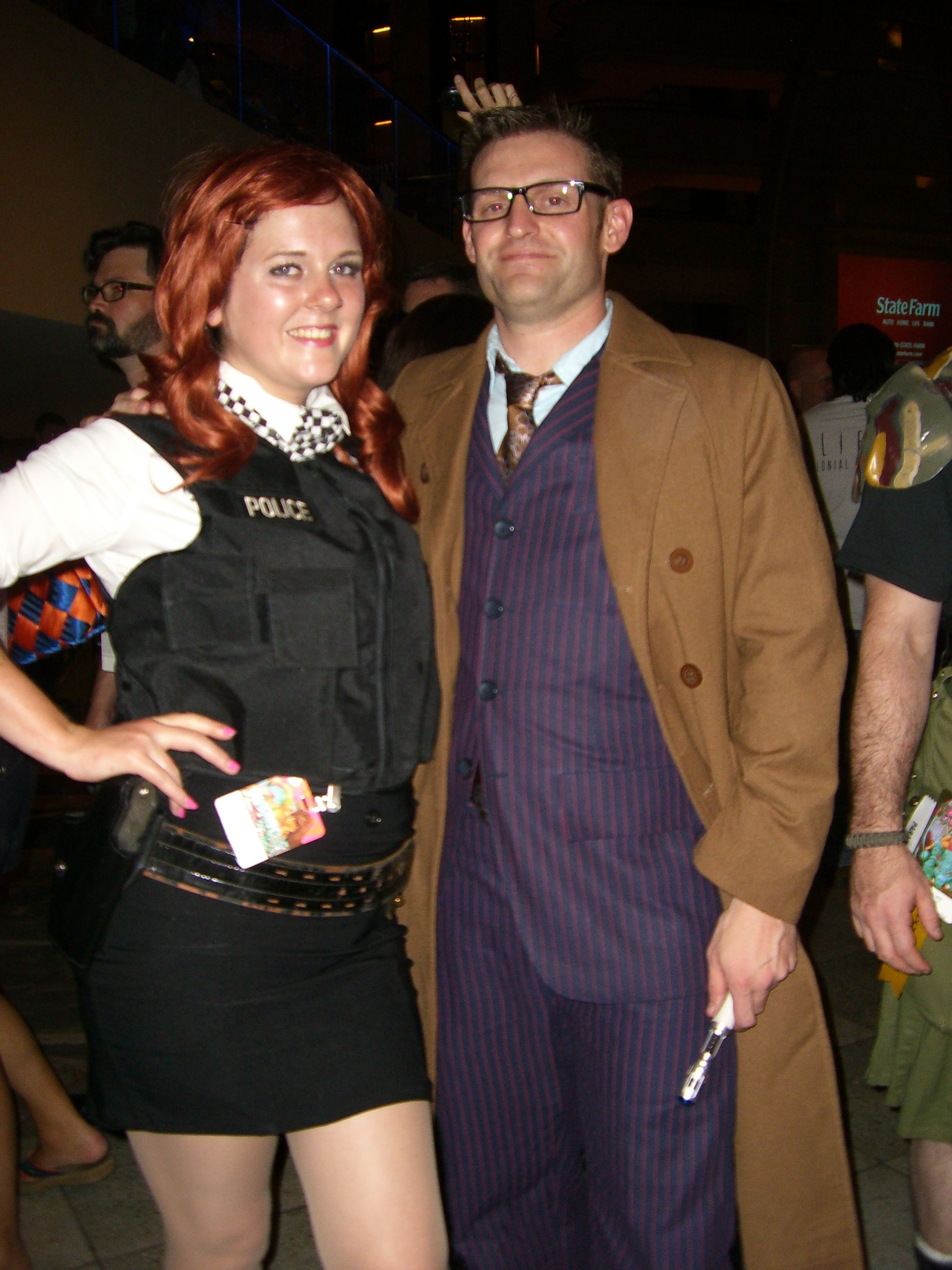amy pond from doctor who costume, | halloween ideas | pinterest