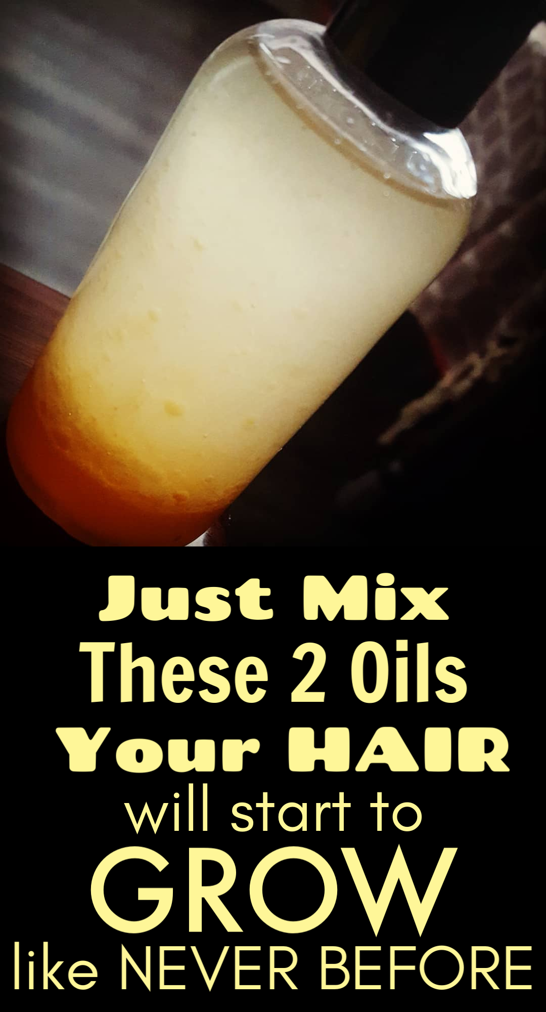 Mix these 4 oils together and use it daily, You will get long and problem free hairs in just 2 months -   12 hairstyles Quick healthy hair ideas