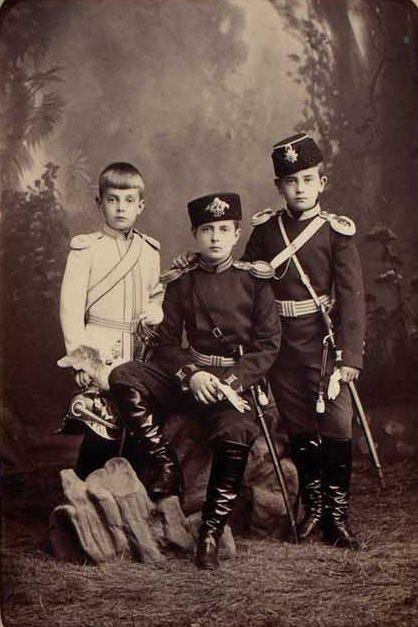 Andre, Krill and Boris. The three sons of Grand Duke Vladimir