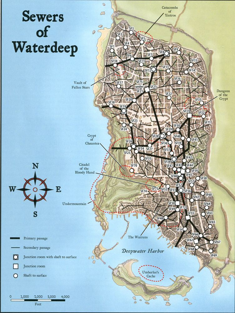 Sewers of Waterdeep | Forgotten realms in 2019 | Fantasy
