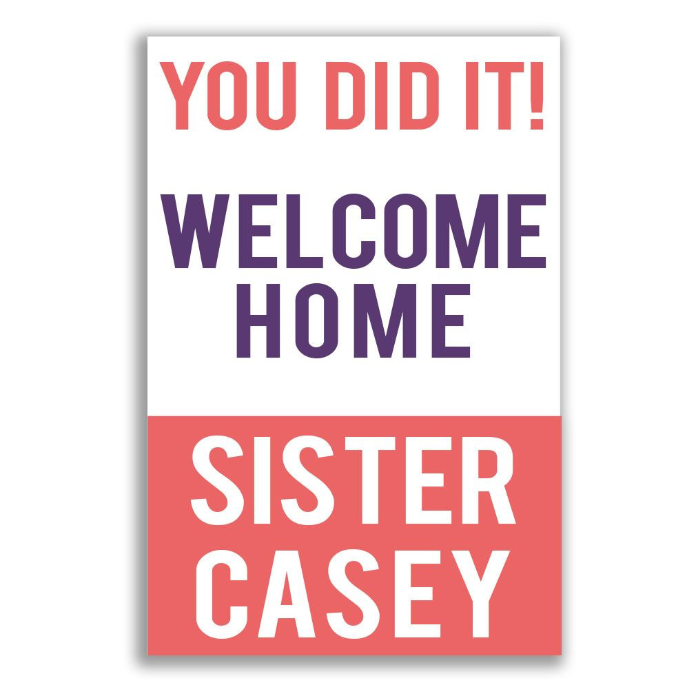 These fun welcome home missionary posters are all about sharing the ...