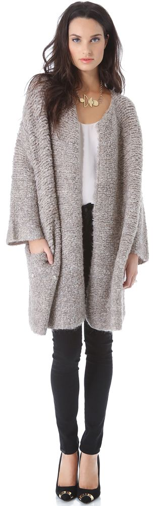 by Malene Birger Viggae Sweater Coat | Style Scout | Pinterest ...