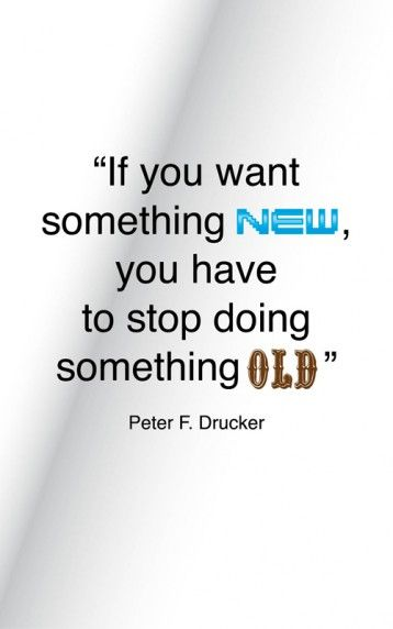 Quotes & Tech. If you want something new …