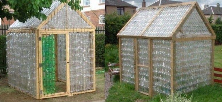 construire une serre en bouteilles plastique jardin. Black Bedroom Furniture Sets. Home Design Ideas