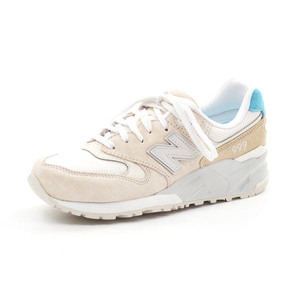 - New Balance 999 hvid/beige