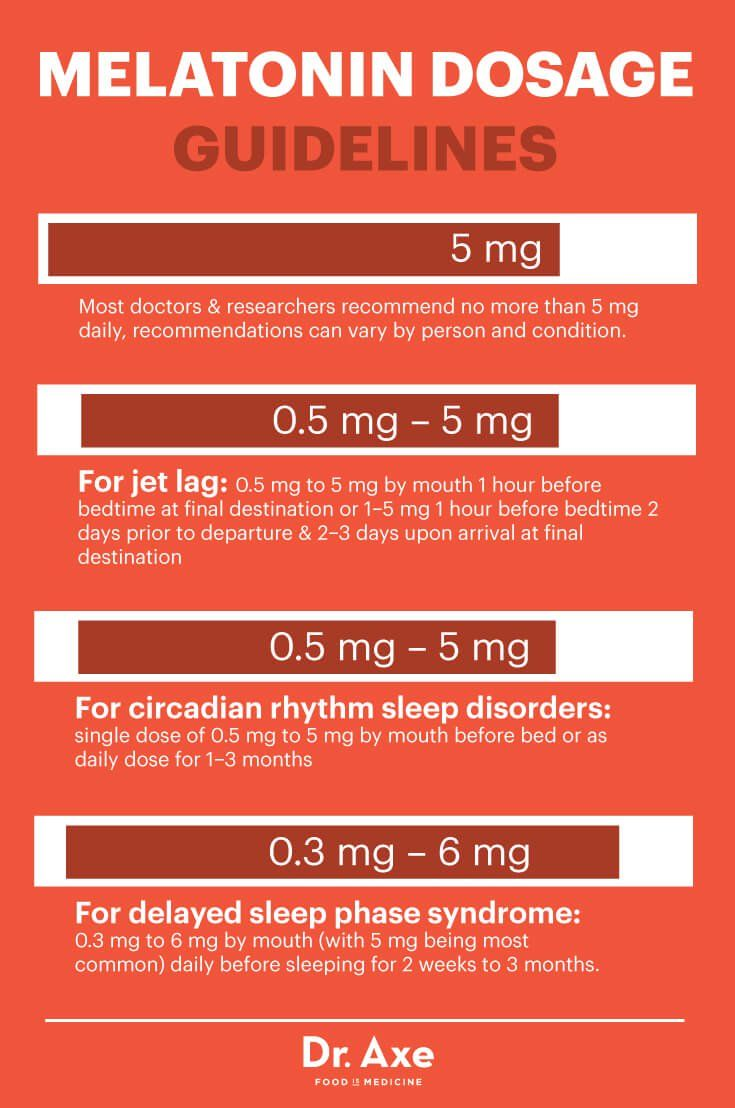 Melatonin Benefits Including Frequent And Dosage Guidelines Dr Axe