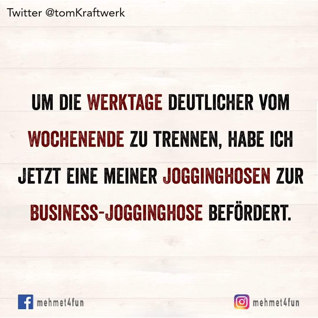 BUSINESS-JOGGINGHOSE #2020sprüche