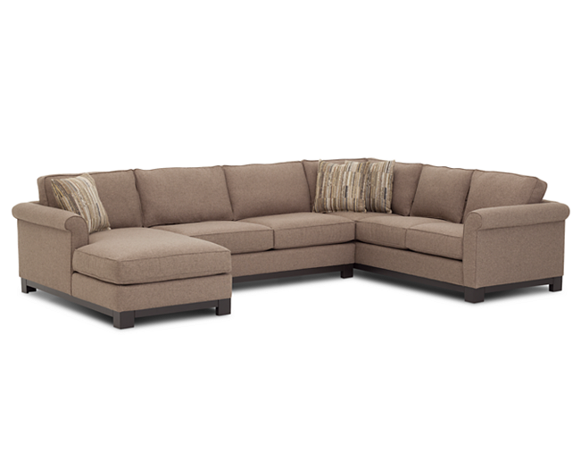 Furniture Row Sectionals Sarah 3 Pc Sectional Comfortable And