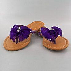 Quick Glam Flip Flops