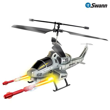 SWANN Missile Strike Gyro RC Helicopter at 42% Savings off Retail!