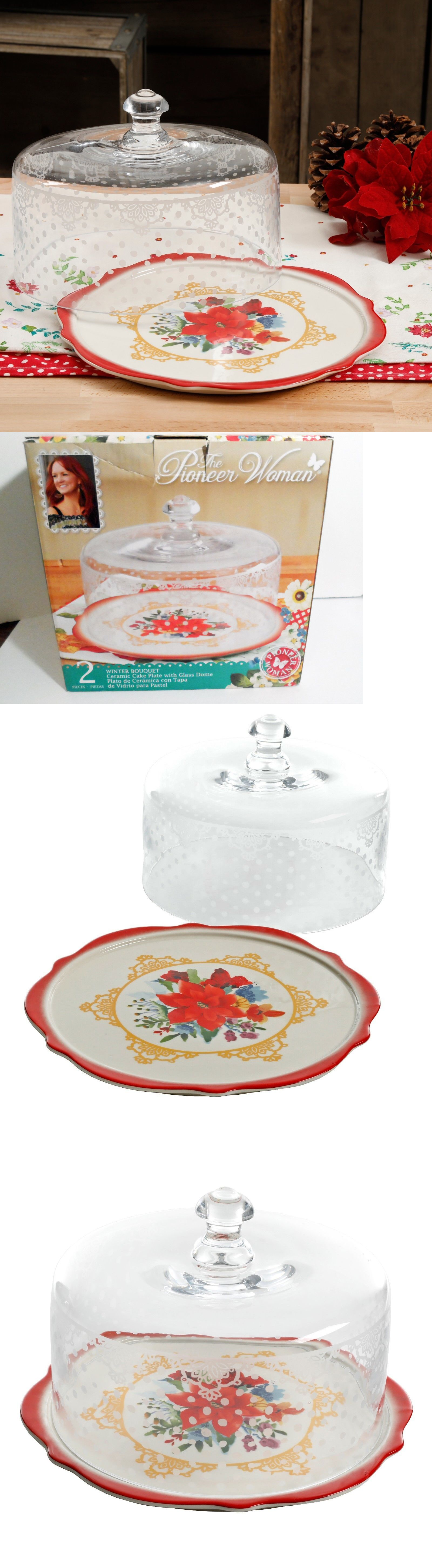 Cake stands 177010 the pioneer woman winter bouquet