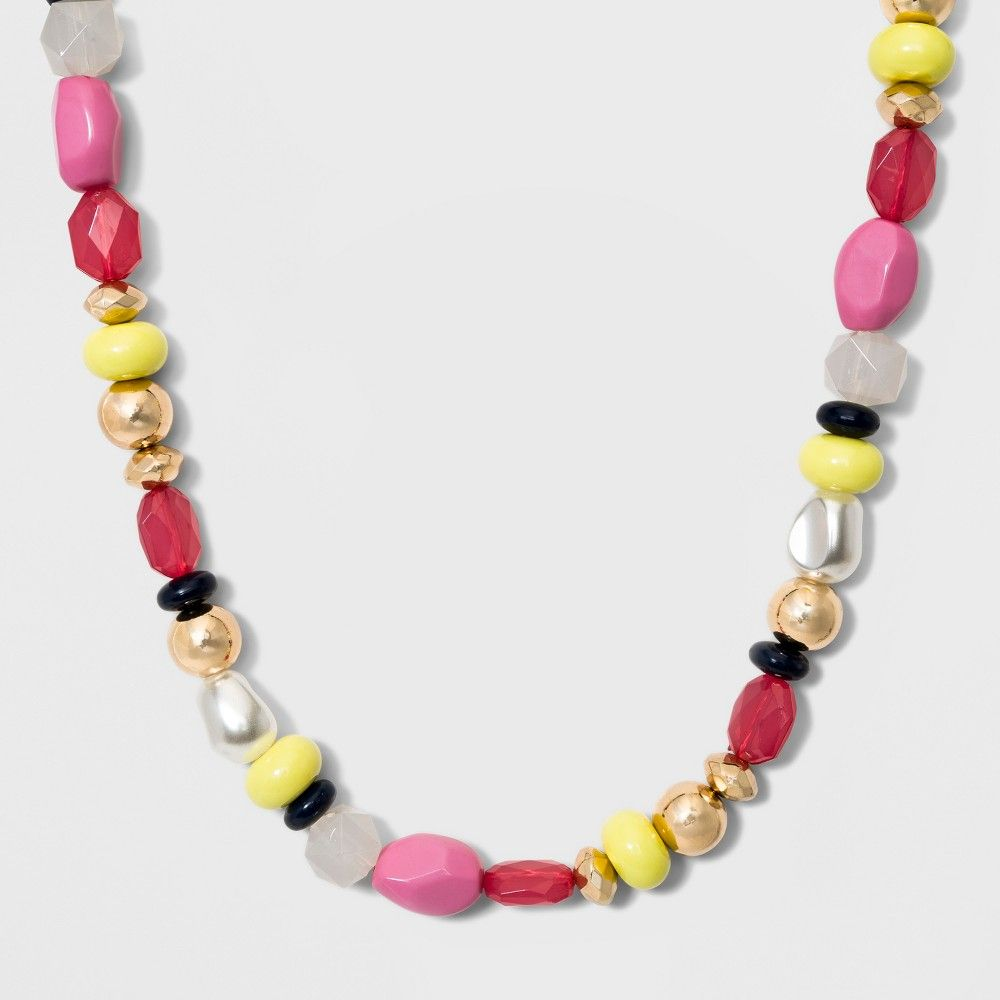 604aebe542ab5 SUGARFIX by BaubleBar Mixed Media Statement Necklace in 2019 ...