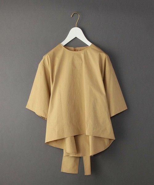 【ZOZOTOWN 送料無料】BEAUTY&YOUTH UNITED ARROWS(ビューティアンドユースユナイテッドアローズ)のシャツ/ブラウス「<6(ROKU)>BACK TIE PULLOVER BLOUSE/ブラウス」(16211051146)を購入できます。