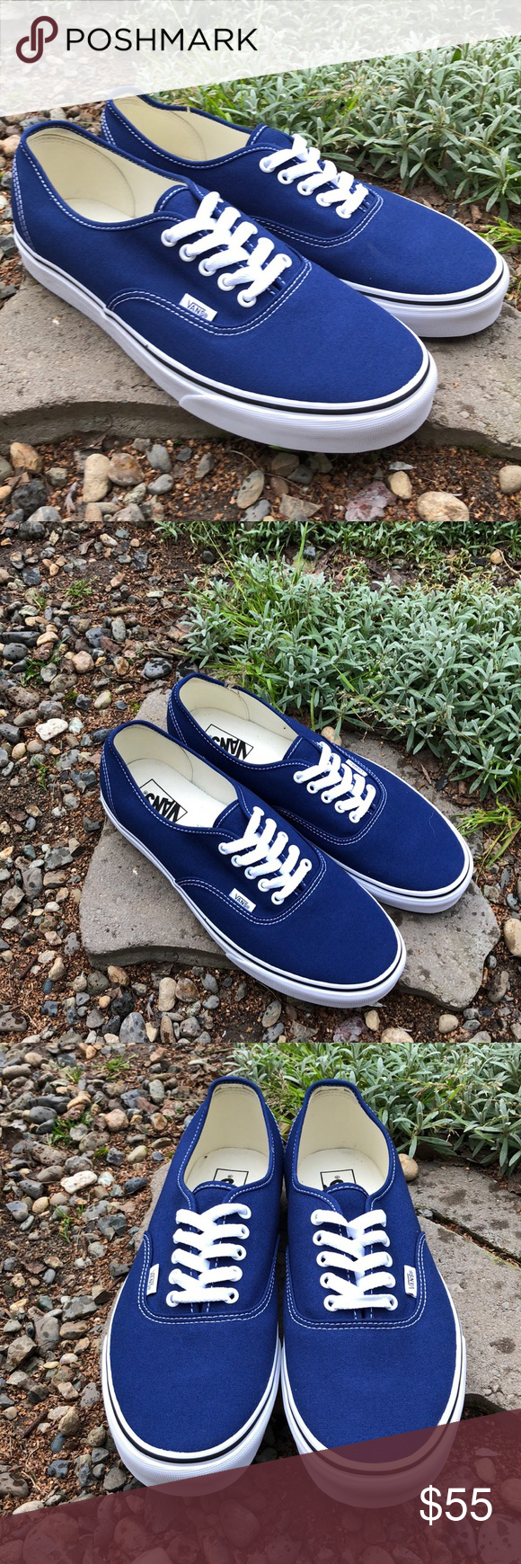 5d3a6c7fa6 Vans Authentic Estate Blue Shoes Vans Authentic Estate Blue Shoes New Men's  Size: 11.5 Color: Estate Blue These great shoes are the perfect addition to  any ...