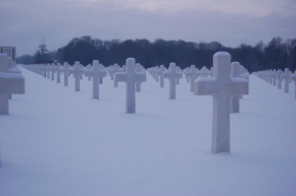 American Military Battle Commission ~ American Military Cemetery - Ardennes, Belgium