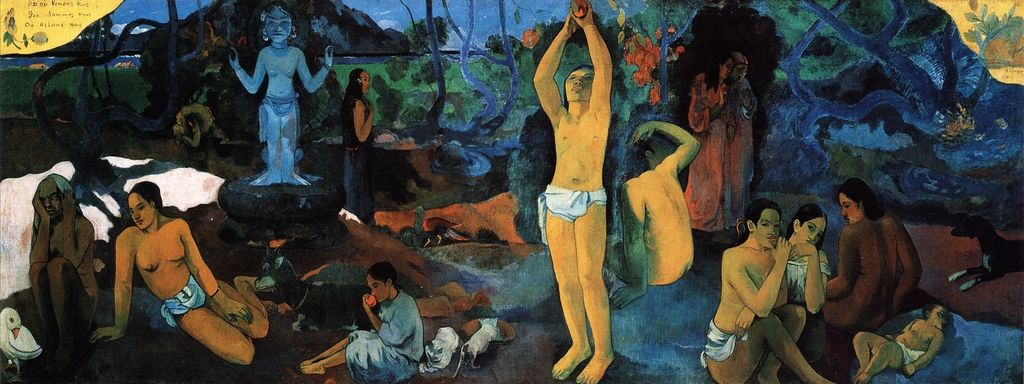 Where do we come from? What are we? Where are we going? - Paul Gauguin, 1897