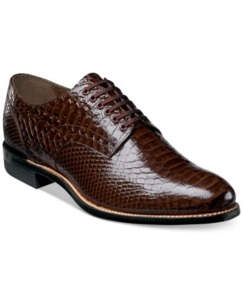 3744ced296f5 Stacy Adams Men s Madison Oxford - Brown 11.5