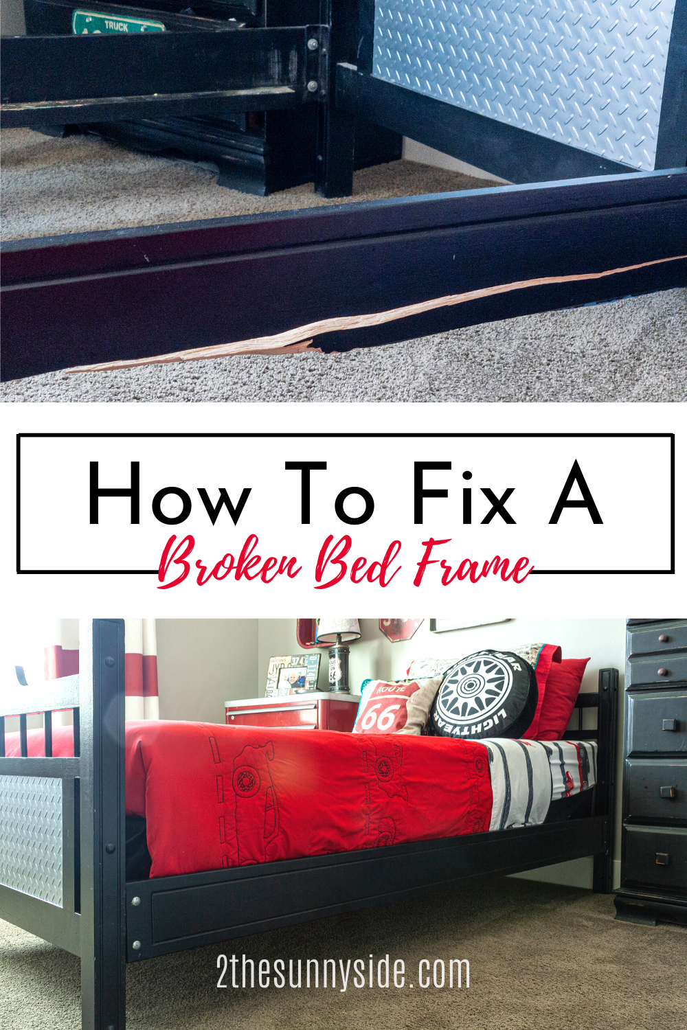 How To Fix A Broken Bed Frame In 2020 Diy Home Decor Projects