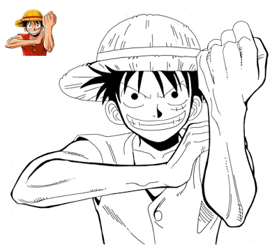 Anime Manga One Piece Coloring Pages Printable Online Coloring