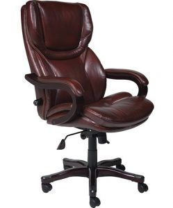Top 10 Most Comfortable Office Chairs In 2020 Brown Leather Office Chair Leather Office Chair Executive Chair