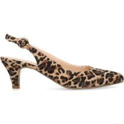 Photo of Pumps with kitten heel and leopard print (36,37,38,39,40,41,42) ManfieldManfield