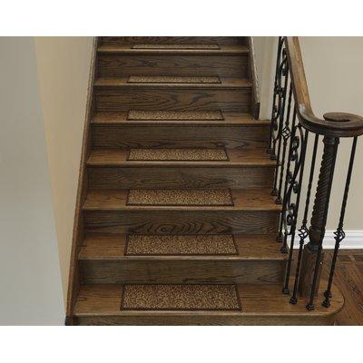 Best Ottomanson Escalier Brown Contemporary Solid Design Stair 640 x 480