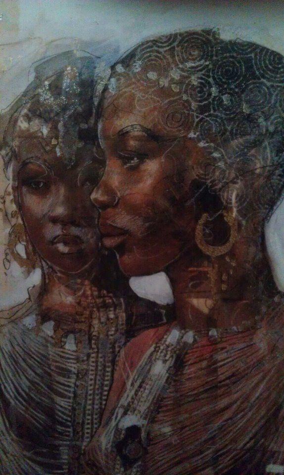 regal African women