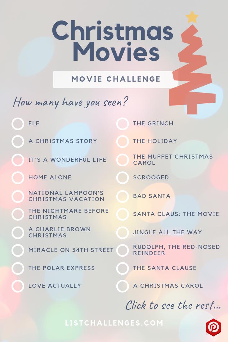 The Ultimate Christmas Movie List moviestowatch The
