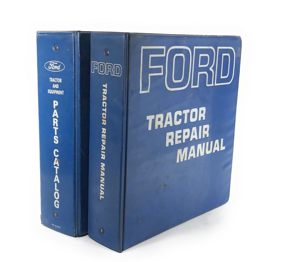 Ford Tractor Manuals & Publications Parts Cat Ford 2000 3000 4000 5000 7000 Tractor Workshop Service Repair Manual