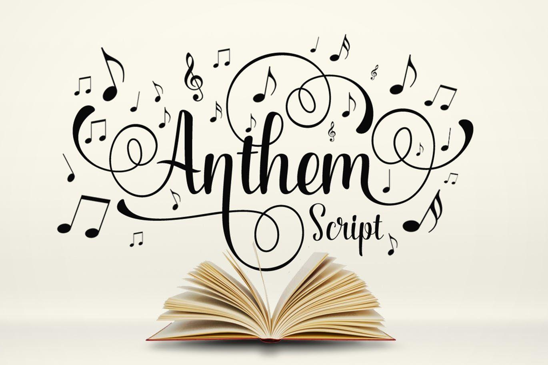Anthem Script Font