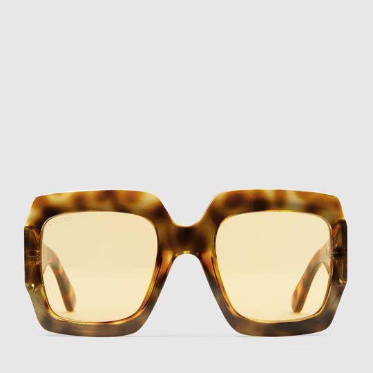 c0cab64e0f8 Gucci Oversize square-frame sunglasses