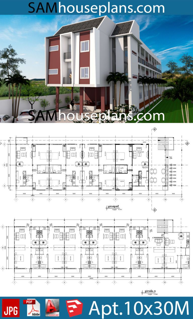 Apartment Plans 10x30 With 18 Units House Plans Free Downloads Apartment Plans Hotel Floor Plan Hotel Room Design Plan