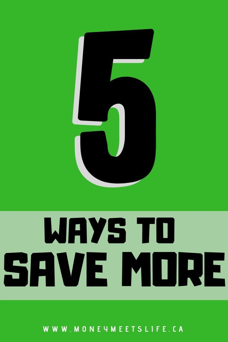 Ways to Save More Technically saving money is easy all you have to do is spend less than you earn. If you ever tried to save money you know it's not that easy. So here are some tips to help you save more money. If you're in your 20s and saving for a house. These tips also work for teens saving for travel. No matter whether you live in Canada or else where.TRIC  TRIC may ...