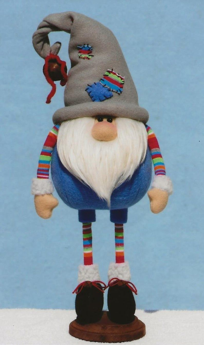 Primitive Pattern Roly Poly Standing Gnomes Primitive Patterns Gnome Patterns Doll Crafts