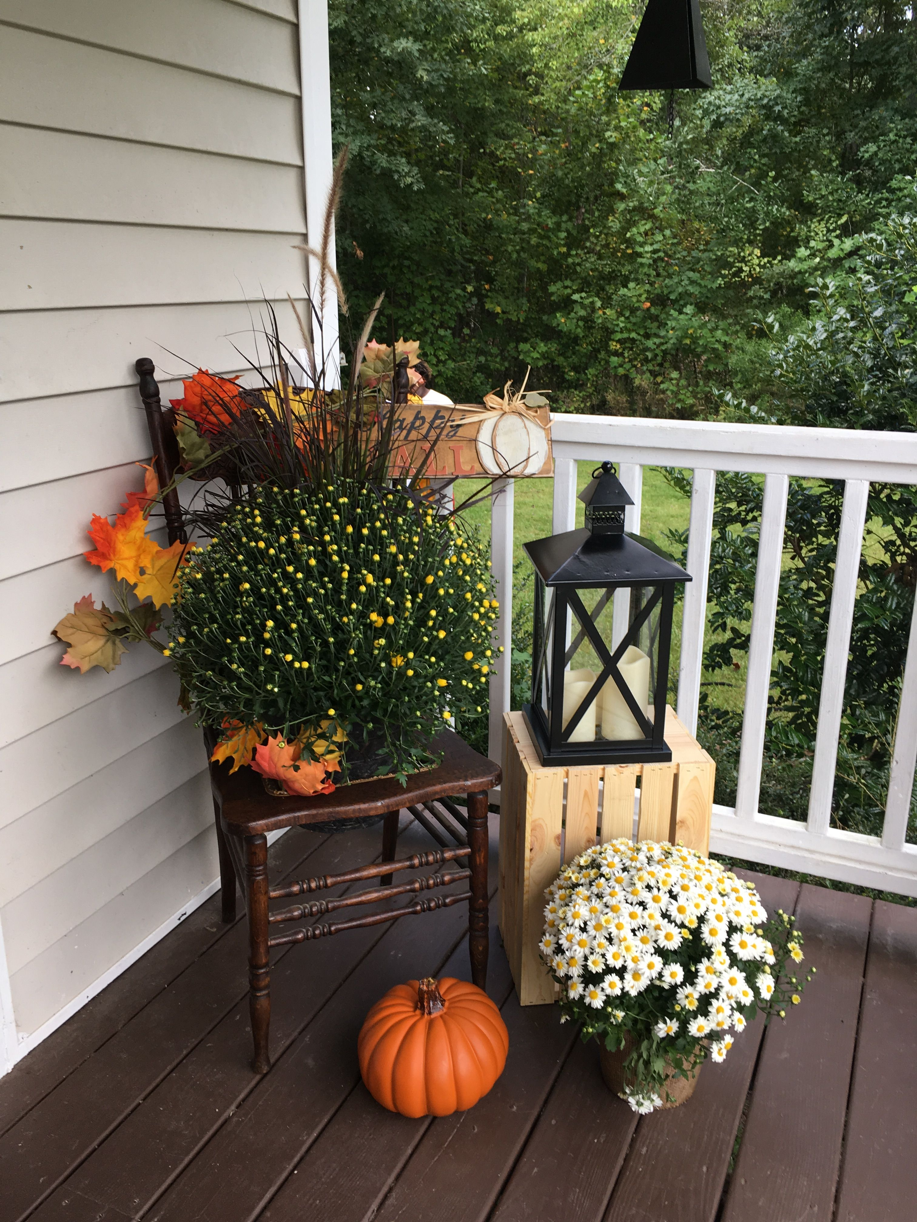 My Own Front Porch Fall Front Porch Decor Fall Decorations Porch Fall Outdoor Decor