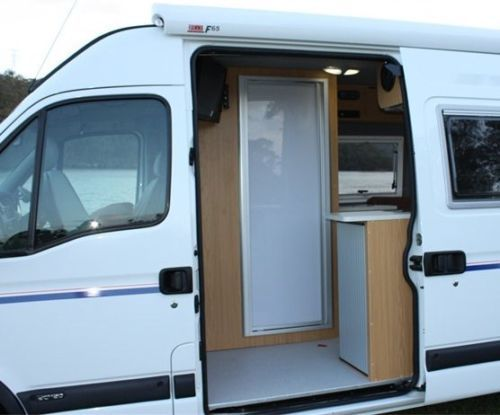 Fibreglass Motorhome Shower Suits Mercedes Sprinter VW Crafter Similar Vans