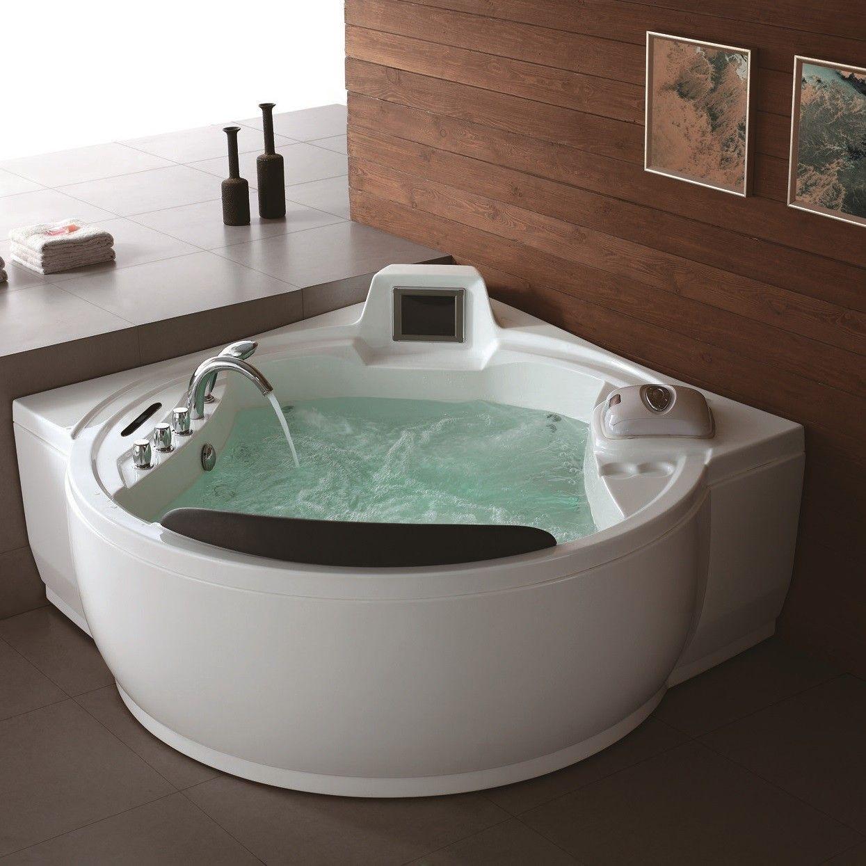 Holen Sie Sich Die Besten Whirlpool Bewertungen Fur Ihr Badezimmer Mobelde Com Whirlpool Badewanne Badezimmer Jacuzzi Badewanne