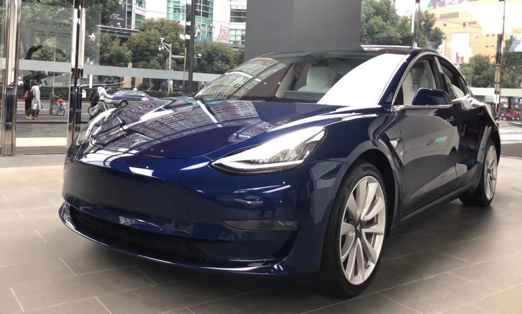Tesla registered 21,308 Model 3 VINs targeted towards Europe and