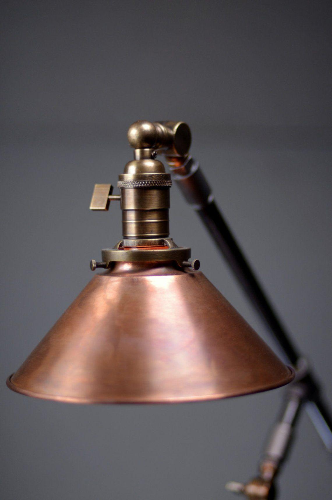 Industrial Table Lamp Edison Desk Lamp Copper Lamp Pipe Lamp